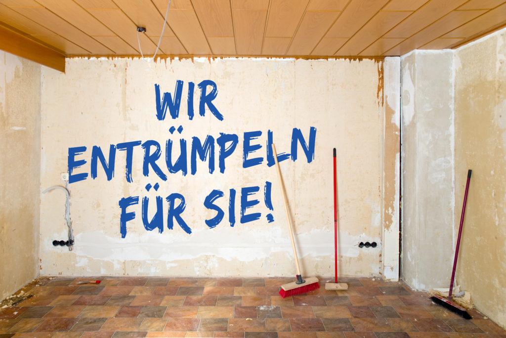 Wir entrümpeln für Sie in Baden-Baden